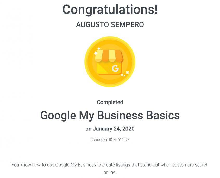 Google My Business Basics Panama